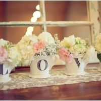 Shabby Chic Wedding - Lots of cute ideas and details.