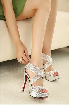 urban Temperament High-heeled Dress Sandals