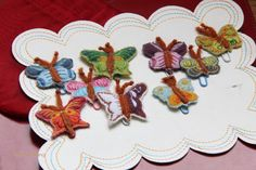 butterflies paper clips anthropologie