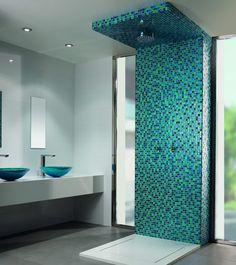 Mosaiksteinchen für die Dusche.