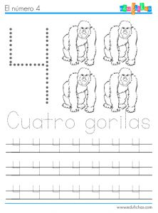 aprender numeros y animales 4