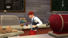 New party member! Tags: fail coffee bad oops miss sims the sims sim spill ts4 ts3 ts2 simmer ts1 simming barrista