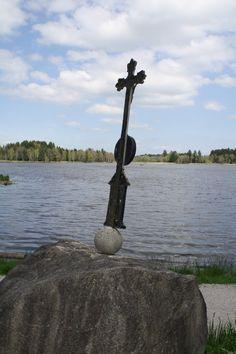 Kreuz am Soier See, Bad Bayersoien, Ammergauer Alpen