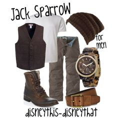 """""""Jack Sparrow"""" by disneythis-disneythat on Polyvore"""