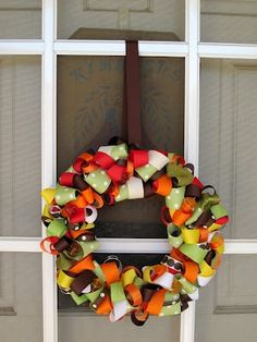 Ribbon Wreath~FALL