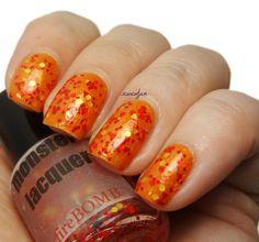 nail polish - fireBOMB - nail lacquer