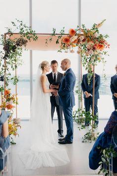 A beautiful chuppah - wild flowers Indian Wedding Ceremony, Wedding Altars, Chapel Wedding, Wedding Arches, Wedding Decor, Wedding Flower Inspiration, Cute Wedding Ideas, Wedding Stuff, Arco Floral