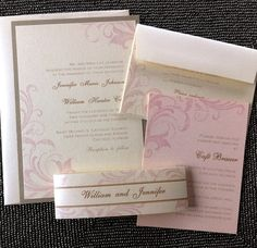 Wedding Invitation  The Vintage Flourish Set by ThePerfectGiftShop, $4.50