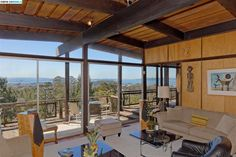 7 Highgate Ct, Kensington, CA 94707 Berkeley Hills, Midcentury Modern, Perfect Place, Pergola, Mid Century, Real Estate, Outdoor Structures, Places, Outdoor Decor