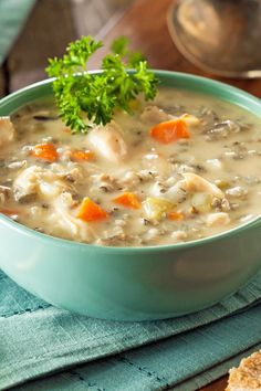Copycat Panera Bread Cream of Chicken & Wild Rice Soup Recipe