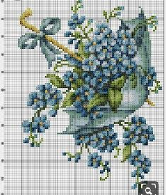 New Embroidery Patterns Cross Stitch Flowers 21 Ideas Cross Stitch Cards, Cross Stitch Flowers, Cross Stitching, Cross Stitch Embroidery, Embroidery Flowers Pattern, Flower Patterns, Cross Stitch Designs, Cross Stitch Patterns, Needlepoint Patterns