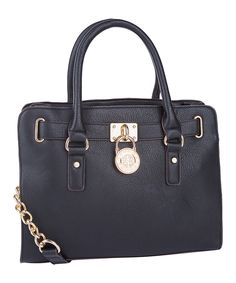 This Black Plora Satchel by MKF Collection is perfect! #zulilyfinds