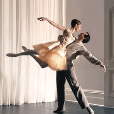 A dancer is an artist, an actor, and an athlete all rolled into one.