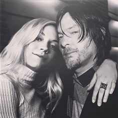 Emily Kinney and Norman Reedus, Normily (the walking dead) Bethyl, Beth and Daryl twd