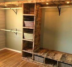 30 + Clever Diy Closet Design Organisation Ideen - Home - DIY & Crafts Closet Storage, Diy Closet, Decor, Closet Designs, Diy Furniture, Closet System, Home Decor, Home Projects, Closet Remodel