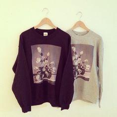 Cool Try Arrangement Crewneck Sweatshirts by Ryan De La Hoz