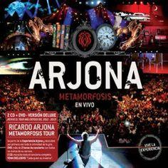 Ricardo Arjona - Metamorfosis en vivo ( 2 cds + dvd)