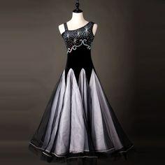 Ballroom Ladies Latin Viennese Waltz Foxtrot Rhythm Competition Dance Dress