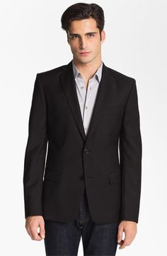 Versace Trim Fit Wool Blend Blazer (Online Only) available at #Nordstrom