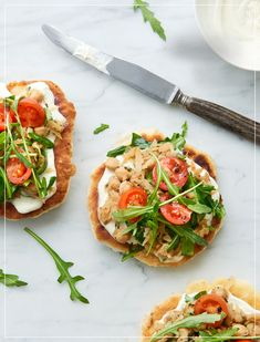 Kohlrabi Kichererbsen-Pizza Food, Chic Peas, Tomatoes, Baking, Food Food, Rezepte, Meals