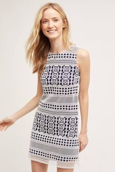 at anthropologie Strata Cutlace Shift