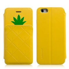 color your iphone 6, Momax Pineapple Wallet Case Cover for iPhone 6  http://www.mobileacc.com.au/Momax-Pineapple-Wallet-Case-Cover-for-iPhone-6