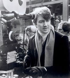 david lynch on the set of the elephant man