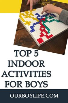 At some point you may find yourself stuck inside for the day with your kids. Try our top 5 indoor activities for boys to do at home and keep them busy! Activities For Boys, Indoor Activities, Boys Life, Business For Kids, Kids Playing, Finding Yourself, Children, Fun, Young Children