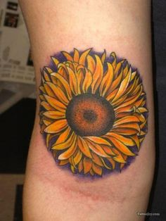 Vibrant Sunflower Tattoo Designs & Meanings Cool More Information . - Vibrant Sunflower Tattoo Designs & Meanings Cool More Information … – Tattoo Informations - F Tattoo, Tattoo Knee, Foot Tattoos, Finger Tattoos, Small Tattoos, Tatoos, Sunflower Tattoo On Wrist, Sunflower Tattoo Meaning, Sunflower Tattoos
