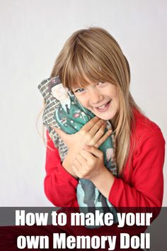 Memory Dolls Tutorial | Alida Makes - could there be a better reason to sew?