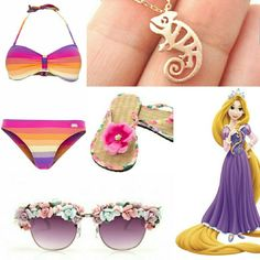 Rapunzel Beach Look Book👙