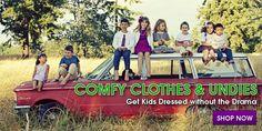 Clothing and seamless socks for sensory-sensitive kids as well as those with Eczema