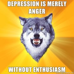 Courage Wolf, dayum then i musta been un-enthusiastic for a time.. :P