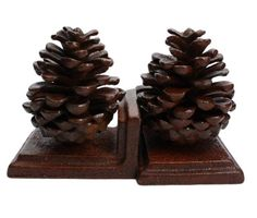 HomArt Pinecone Bookends