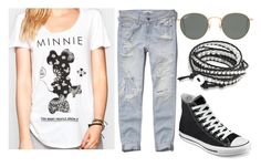 """Browse"" by smashitwithahammer ❤ liked on Polyvore featuring Neff, Abercrombie & Fitch, Converse, Ray-Ban and Bling Jewelry"