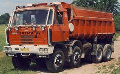 Tatra T815 8x8 S1 Dump Trucks, Tow Truck, Compressed Air, Diesel Engine, Heavy Equipment, Eastern Europe, Czech Republic, Buses, Motor Car