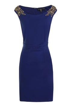 Jurk Jitte | Little Mistress | Dresses Only http://www.dressesonly.nl  #dress #party #cocktail #blue #littlemistress #fashion