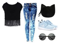 ᴥ by verianna on Polyvore featuring mode, NIKE and Forever 21