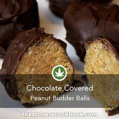 Chocolate Peanut Budder Balls from the The Stoner's Cookbook (http://www.thestonerscookbook.com/recipe/chocolate-peanut-budder-balls)