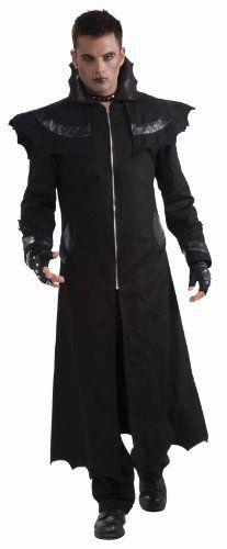 Forum Novelties Men's Demon Bat Coat Adult Costume, Black, Standard Forum Novelties Inc., To enter online shopping Just CLICK on AMAZON right HERE ttp://www.amazon.com/dp/B00E1PKNIY/ref=cm_sw_r_pi_dp_ta5otb0XPXZVZBJF