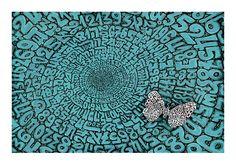Tobia Ravà, Moltiplicatore naturale, 2015. Stampa litoserigrafica f.to cm 50x70 su cartoncino Chagall da gr. 360 mq. Tiratura limitata a 100 copie numerate e firmate dall'artista.