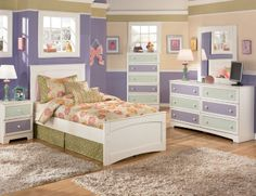 Marvelous Girls Bedroom Furniture Blue Brown Interior Wooden Floor With Violet Color Of Drawer With Brown Color Of Flooring Unit