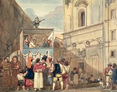 "Achille Pinelli ""The Puppet Theatre"""