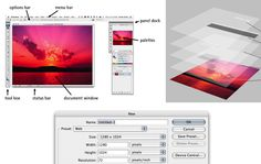 an awesome compilation of 12 Beginner Tutorials for Getting Started With Photoshop, put together by Jacob Gube, on Mashable. Such a treasury of information - great for those transitioning from using Photoshop Elements to using Photoshop, or for anyone who considers themselves a beginner in Photoshop.