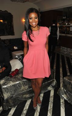 Gabrielle Union. Simple but put together