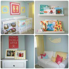Project Nursery - Girl Nautical Nursery Collage