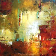 Contemporary Abstract Paintings by Elizabeth Chapman