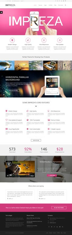 Impreza - Retina Responsive WordPress Theme http://themeforest.net/item/impreza-retina-responsive-wordpress-theme/6434280?ref=wpaw #web #design #wordpress