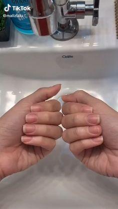 Nail Growth Tips, Nail Care Tips, Short Nails, Long Nails, Nail Care Routine, Red Acrylic Nails, Exotic Nails, How To Grow Nails, Striped Nails