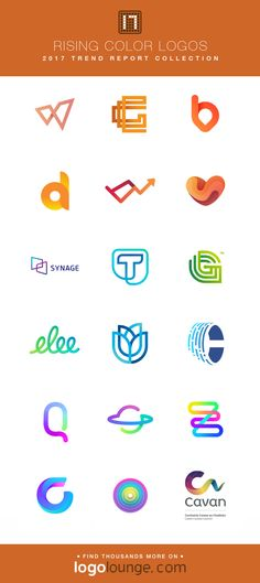 2017 LogoLounge Trend Report Collection - Rising Color A subtle shift of color along a pathway gives depth to overlapping layers and lines, which makes the logos appear dimensional. Medical Jokes, Medical Logo, Typography Logo, Logos, Logo Minimalista, Dental Logo, Diamond Logo, Event Branding, Medical Design